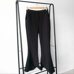Keepsake The Label Black Fast Forward Flare Pants